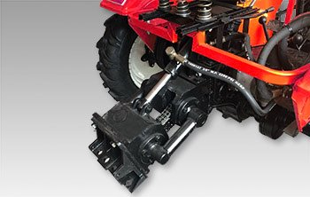 Мини-трактор Shtenli T-180 (18 л.с., ВОМ) - фото гидравлика