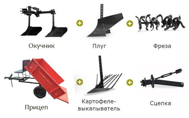 Мотоблок Schneider SM-10 (9 л.с., колеса 5х12, ВОМ, 110 кг) + Подарки - фото 6 подарков.jpg