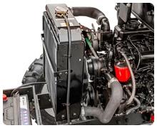 Мини-трактор Rossel RT-244D дизельный (24 л.с., трехцилиндр.) - фото защита радиатора.jpg