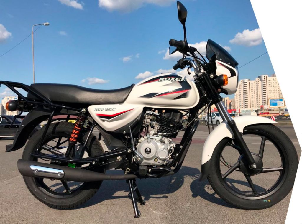 Мотоцикл Bajaj Boxer BM 150 UG - фото 3-150boxer.jpg