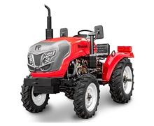 Мини-трактор Rossel RT-244D дизельный (24 л.с., трехцилиндр.) - фото движения по дорогам общего пользования россел 242.jpg