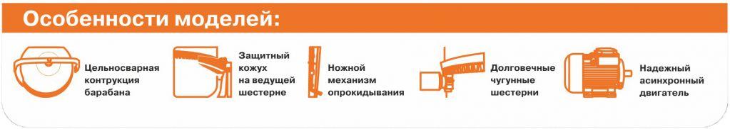 Бетономешалка ECO CMA 150 2019