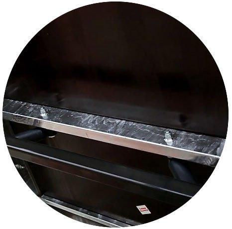 Прицеп для легкового автомобиля Уралец (8213 00) - фото днище прицепа уралец