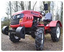 Мини-трактор Rossel XT-184D (18 л.с., ВОМ, дифференциал) - фото по дорогам общего пользования.jpg