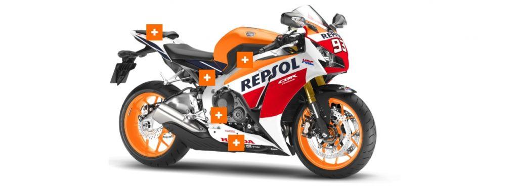 Инновации и технологии Repsol применяются к вашему двигателю