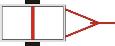 Прицеп для легковых автомобилей Атлет (8213 В5) - фото 02 атлет