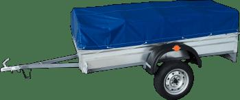 Прицеп для легковых автомобилей Титан-2000 оцинкованный - фото прицеп титан-2000.png