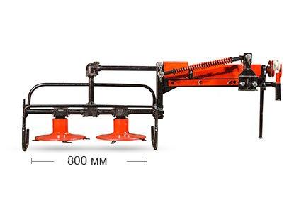 Косилка роторная задненавесная к мини-трактору - фото Косилка роторная задненавесная к минитрактору-3.jpg