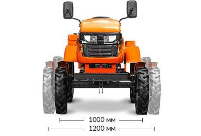 Мини-трактор Schneider Т-24 (24 л.с., BOM, 1100 куб. см, регулир. колея, гидравлика) + Подарки - фото Кентавр Т-18D-6.jpg