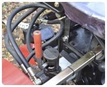 Мини-трактор Rossel XT-184D (18 л.с., ВОМ, дифференциал) - фото Доработанная гидравлика (4 положения).jpg