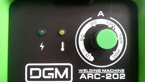 Сварочный аппарат инвертор Solaris - DGM ARC-202 + Подарки - фото arc 202 a.jpg