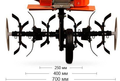 Мотокультиватор Кентавр 4070 Б (7 л.с., 47 кг) - фото Мотокультиватор Кентавр 4070 Б-6.jpg