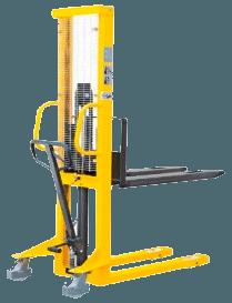 Складское оборудование (гидравлические, платформенные, двухколесные тележки и т.д.) - фото Штабелер гидравлический