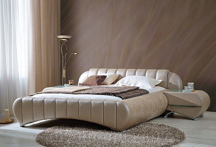 Кровать прямоугольная - фото 1