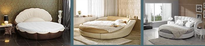 Кровать круглая - фото 1