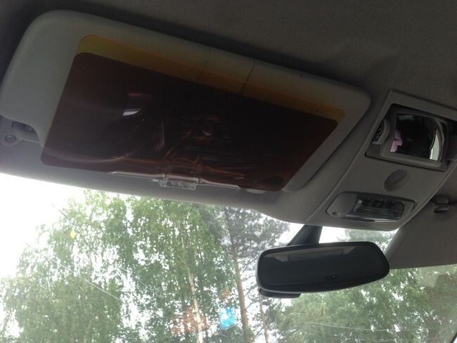 Защитный HD ЭКРАН для водителя
