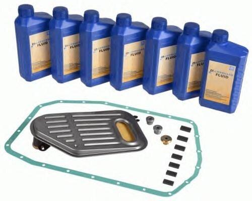 Cервисный комплект замены масла АКПП ZF 5HP19 (фильтр, прокладка, масло) 1060298070 - фото 1