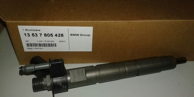 Форсунка топливная (дизель) BMW E60, E70, F10, F01 - фото 1