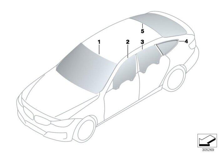 Оригинальные лобовые стекла (ветровое стекло) для BMW - фото 4