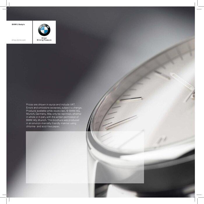Коллекция аксессуаров 2016 BMW THE NEXT 100 YEARS - фото 15