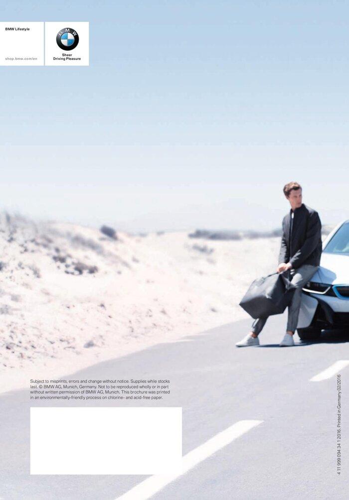 Коллекция BMW LIFESTYLE 2016-2018 - фото 47