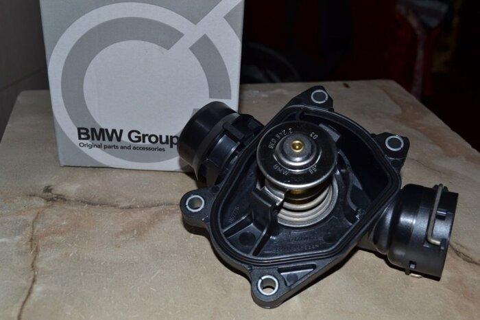 Термостат (новый) BMW E39, E38, E60, E65, E70, E71, E87 и т. д. - фото 1