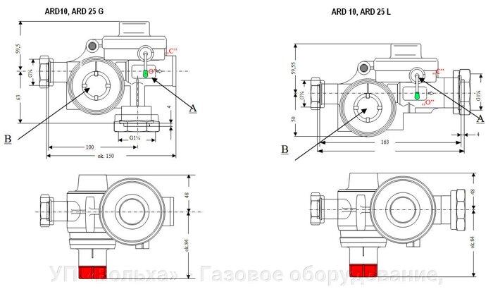 ARD 10 L (линейный) регулятор давления газа бытовой - фото pic_03bfbff0f38aad6_700x3000_1.jpg