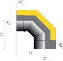 Отвод двустенный 90* - фото pic_60d0daef269a508_700x3000_1.jpg