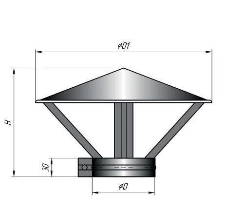 Зонт с обжимным хомутом (круг) - фото pic_2db9fe09796bcfe_700x3000_1.jpg