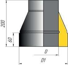 Окончание коническое двустенное - фото pic_b803ab243967a1e_700x3000_1.jpg