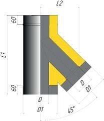 Тройник двустенный 45* - фото pic_d3233a9acc20c25_700x3000_1.jpg