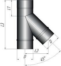 Тройник 45* - фото pic_c4fda5260c3a07c_700x3000_1.jpg