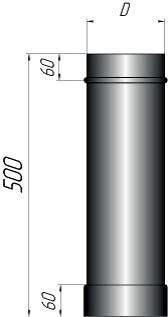 Труба L-500мм - фото pic_cd840440747a1dc_700x3000_1.jpg