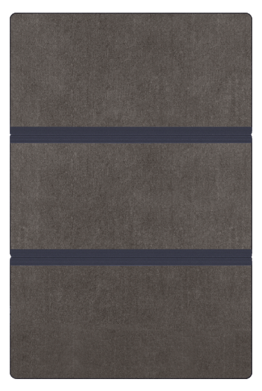 Пол-книга на 3 части ( длина - 121 см )