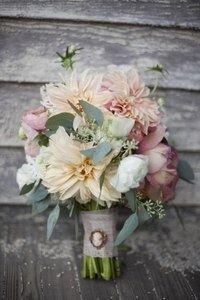 Свадебный букет в стиле Рустик - фото 4