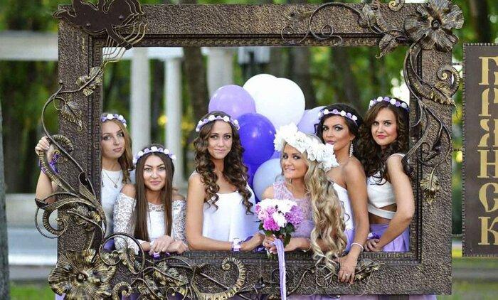 Красивые и яркие ободки и венки для невесты или ее подружек. - фото 1