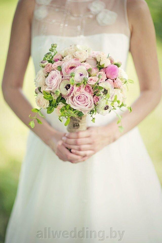 Свадебный букет в стиле Рустик - фото 2