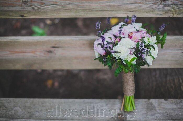 Свадебный букет в стиле Рустик - фото 3