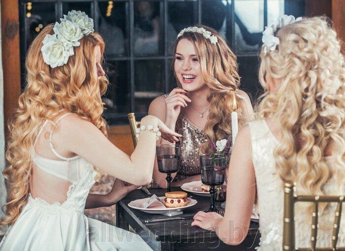 Красивые и яркие ободки и венки для невесты или ее подружек. - фото 3