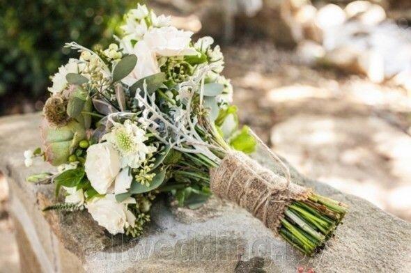 Свадебный букет в стиле Рустик - фото 5