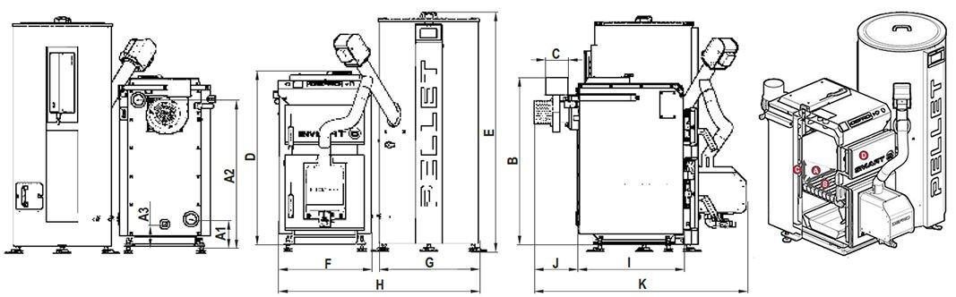 Котёл DEFRO Smart EkoPell 24 кВт - фото Кликните для увеличения