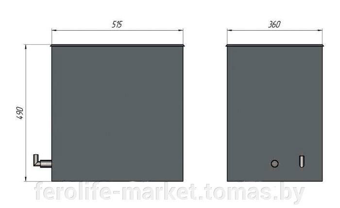 Воскотопка паровая прямоугольная улучшенная на 7 рамок (AISI304), ВППУ-7 - фото pic_6bc85c6ae299c3c_700x3000_1.jpg