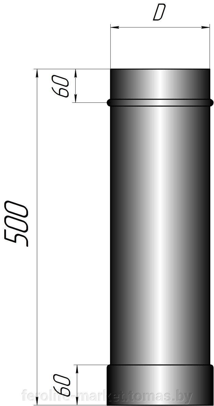 Труба длинной 500мм - фото pic_ac5917ebd7c8fcf_700x3000_1.jpg