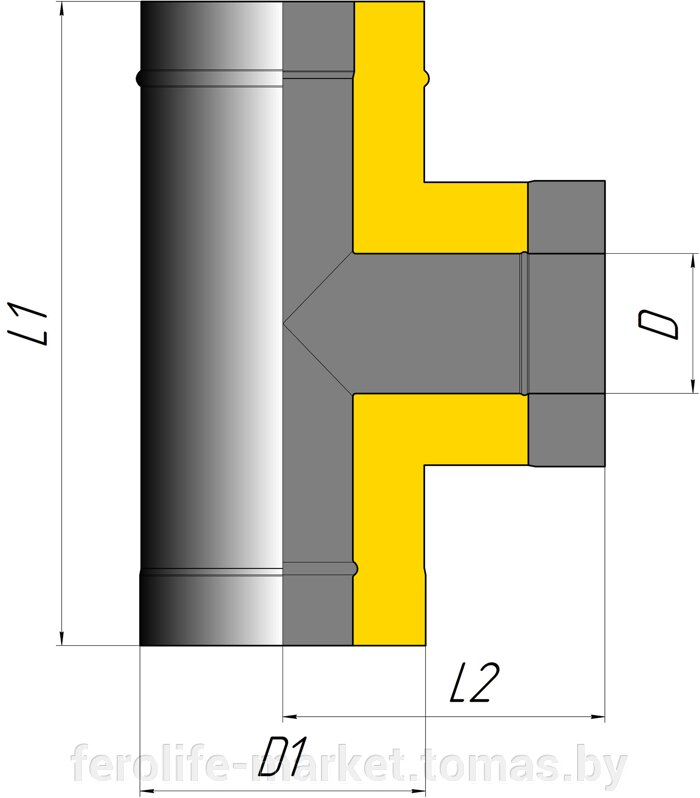 Тройник двустенный 90º - фото pic_76311e7c61983be_700x3000_1.jpg