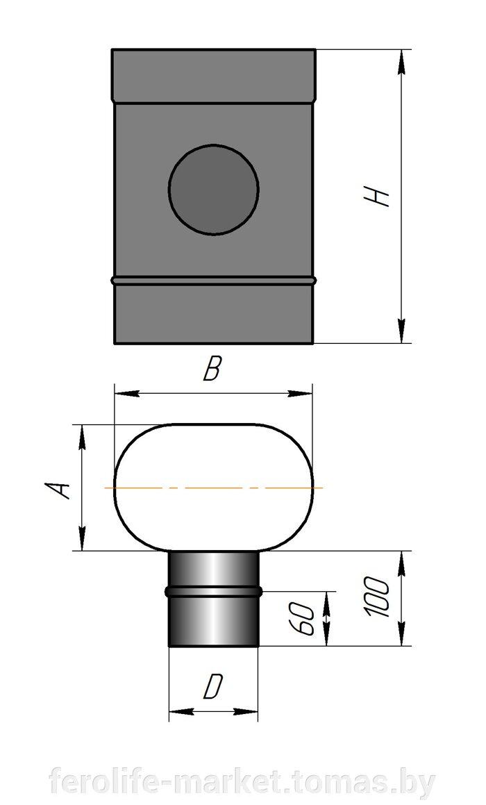 Тройник овального сечения 90º - фото pic_3fc0cd7c111116f_700x3000_1.jpg