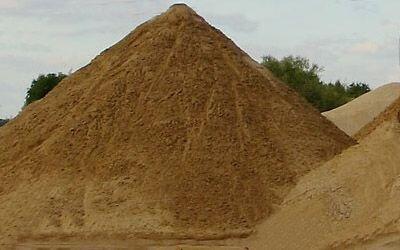 Песок карьерный высшего класса - фото 1