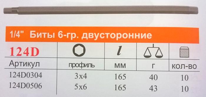биты шестигранные