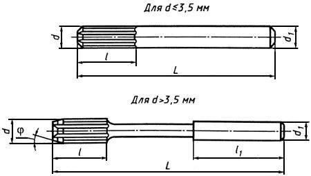 Развертка машинная с цилиндрическим хвостовиком - фото 1