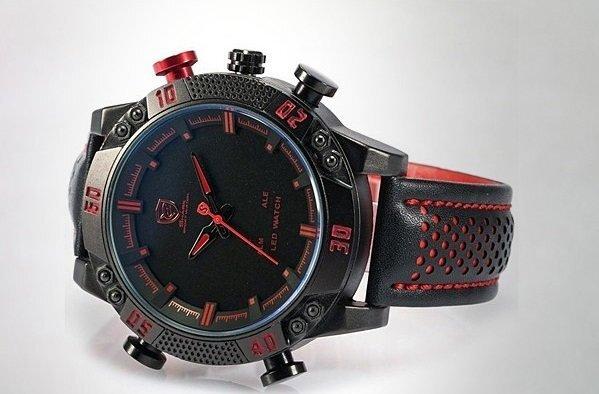 Спортивные часы Shark Sport Watch SH265 Черные с красным - фото pic_c820ddfebacab38_1920x9000_1.jpg