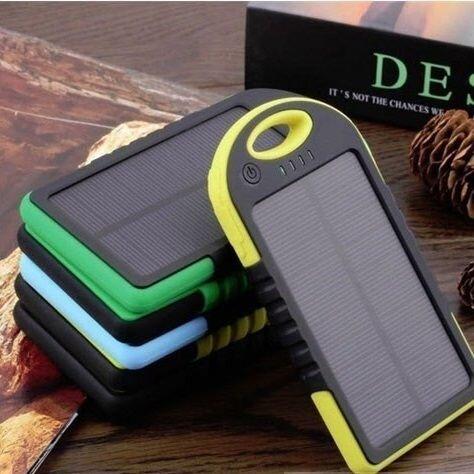 Внешний аккумулятор на солнечных батареях Solar Сharger 5000mAh Чёрный - фото pic_c310b416c28e448_1920x9000_1.jpg